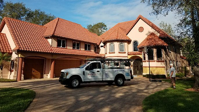 Ormond Beach Roof Cleaning - Roof-Bright of Florida - after roof is cleaned