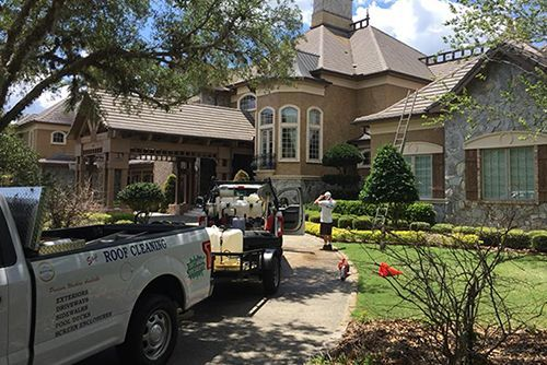 Safe roof cleaning services for Ormond Beach and the surrounding areas